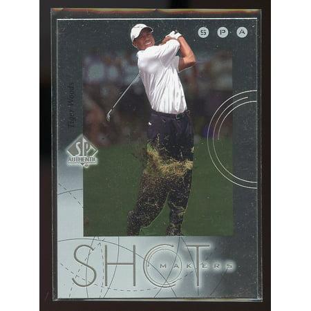 2001 Upper Deck SP Authentic Shot Makers #S1 Tiger