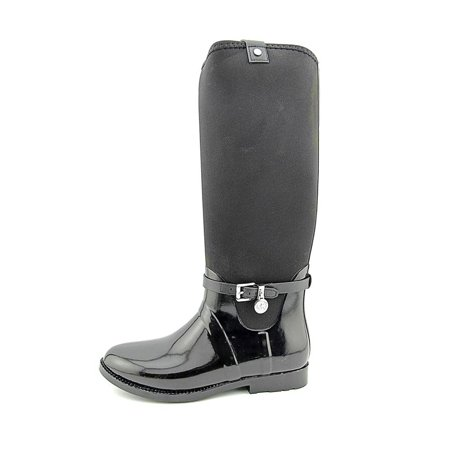 MICHAEL Michael Kors Womens Charm Rubber Closed Toe Mid-Calf Rainboots