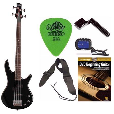 Ibanez Mikro Gsrm20 28 6  Scale Electric Bass Guitar  Black  Kit 1