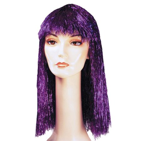 Morris Costumes LW206RD Pageboy Long Tinsel Red Wig Costume - Pageboy Wig