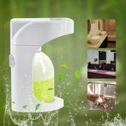 Jeobest Automatic Touchless Foam Soap Dispenser, Wall Mounted & Countertop Motion Sensor 2 Levels Foam Soap Dispenser with Visible Window Waterproof Base Touch Free