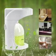 Jeobest Automatic Touchless Foam Soap Dispenser, Wall Mounted & Countertop Motion Sensor 2 Levels Foam Soap Dispenser with Visible Window Waterproof Base Touch Free 500ml