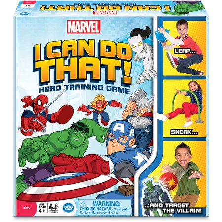 Marvel I Can Do That  Hero Training Game