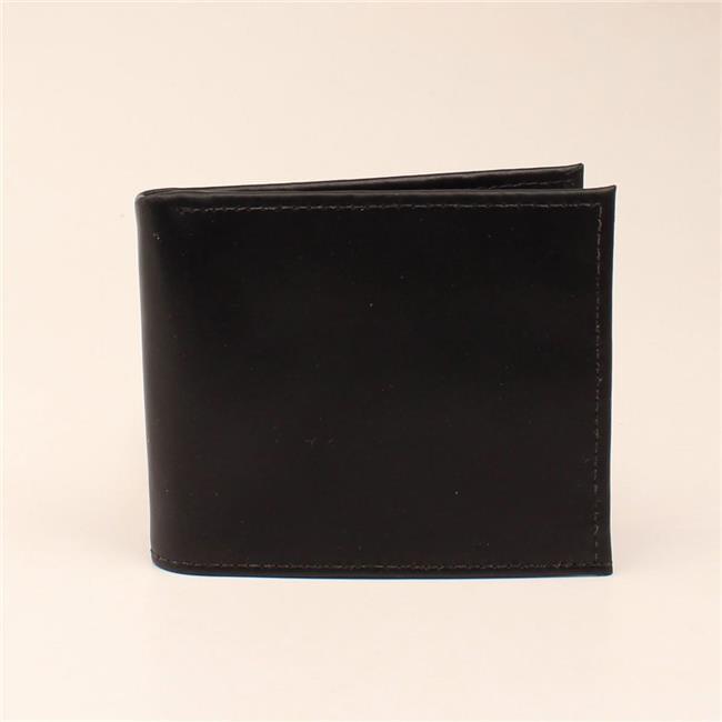 3D Belt Company Men/'s Brown Floral Turquoise Diamonds Bi-Fold Wallet W888
