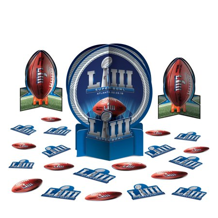 2019 Super Bowl LIII 53 Football Party Table Decor Kit 23pc 12