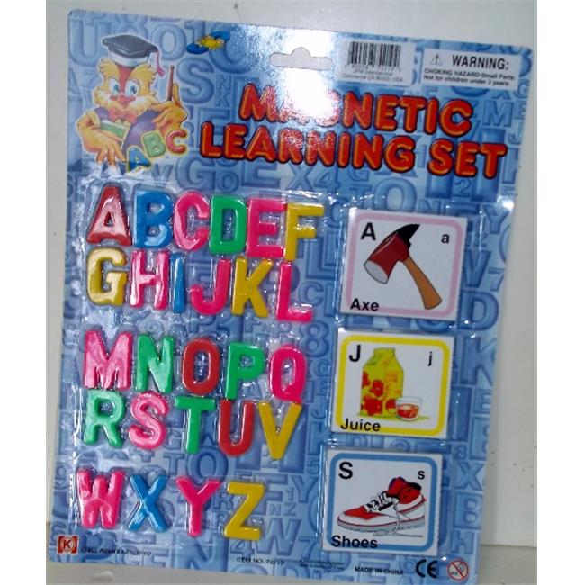 DDI 1273013 Magnetic letters & Picture Cards Case Of 72