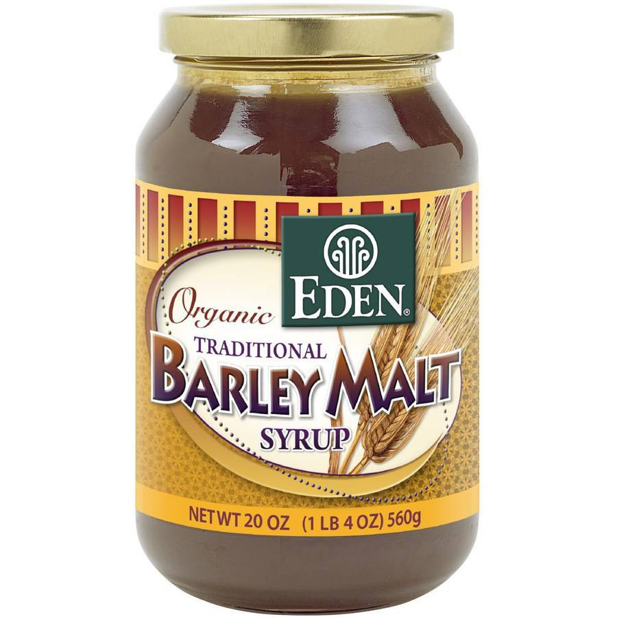 Eden Barley Malt Syrup, Organic, 20 Ounce (Pack of 6) by