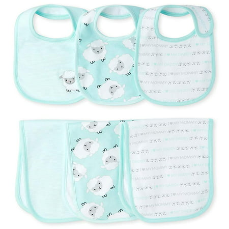 The Childrens Place Baby 6 Pack Bib and Burbing Cloth Set, Crystalmnt, No Size The Childrens Place Baby 6 Pack Bib and Burbing Cloth Set, Crystalmnt, No Size. The Childrens Place Baby 6 Pack Bib and Burbing Cloth Set, Crystalmnt, No Size.