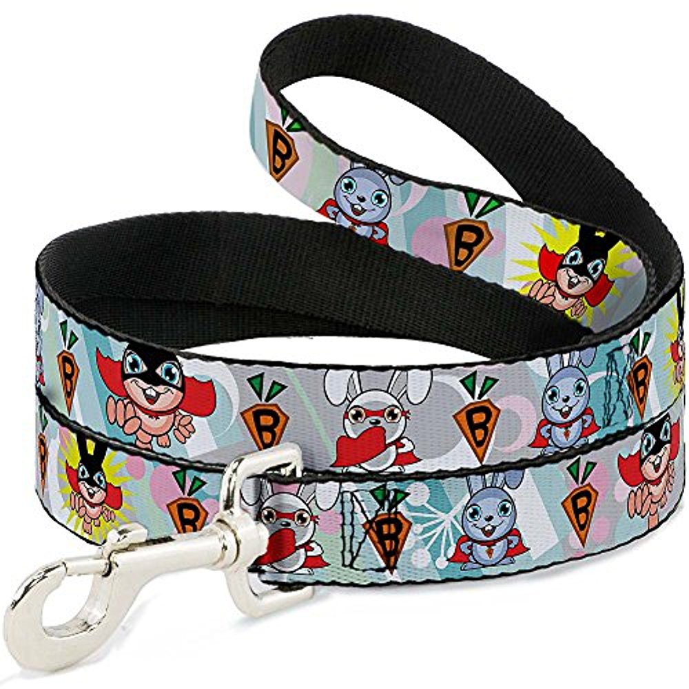 "Buckle-Down Pet Leash - Cali Bear Silhouette & Star CALIFORNIA REPUBLIC - 4 Feet Long - 1 2"" Wide"