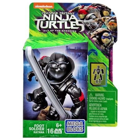 Foot Soldier Set Mega Bloks DPW16 Katana Teenage Mutant Ninja Turtles](Kitana Toy)