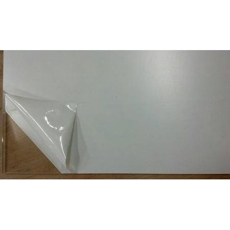 Clear Acrylic Wall Plaque - 2 pack- CLEAR ACRYLIC PLEXIGLASS .060