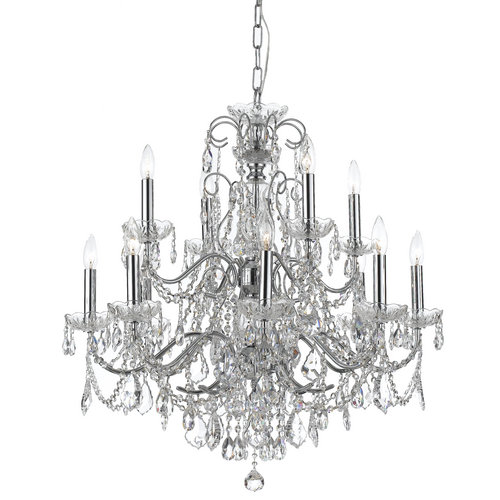 Crystorama 3228-CH-CL-S Eight Light Chandeliers by Crystorama