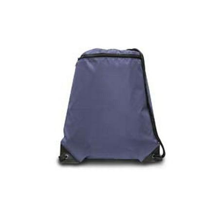 Lightweight Nylon Drawstring - 8888 Denier Nylon Zippered Drawstring Backpack