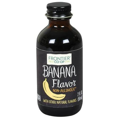 Frontier Banana Flavor, 2 Oz