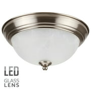 Leonlite 15w Led Flush Mount Ceiling Light Fixtures Dimmable 11 Inch