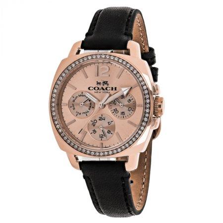 Coach Ladies Boyfriend Analog Dress Quartz Watch (Imported) 14502125 - Imported Dresses