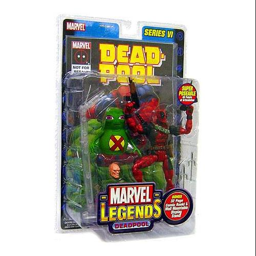 Marvel Series 6 Deadpool Action Figure
