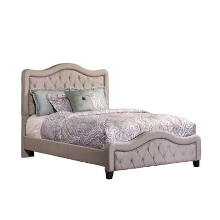 a797448ecf04 Hillsdale Furniture Trieste Queen Bed with Bedframe, Dove Gray - Walmart.com