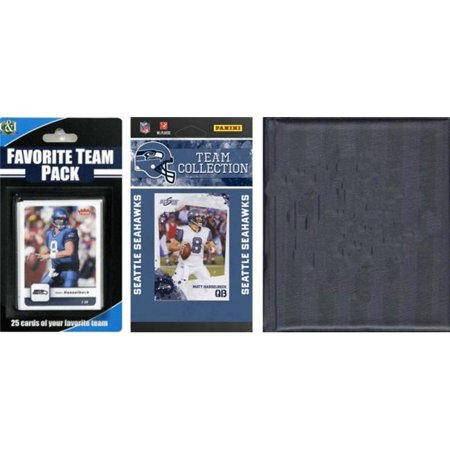 C & I Collectibles 2010SEAHAWKSTSC NFL Seattle Seahawks licence 2010 Score Team Set et joueur pr-f-r- n-gociation Pack Card Plus Album de stockage - image 1 de 1