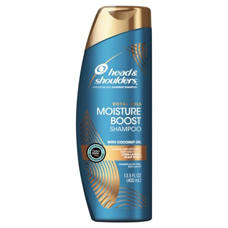 Head and Shoulders Royal Oils Moisture Boost Shampoo with Coconut Oil, 13.5 fl