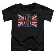The Who Flag Logo Little Boys Shirt