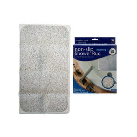 Fast Drying Non-Slip Shower Rug ()