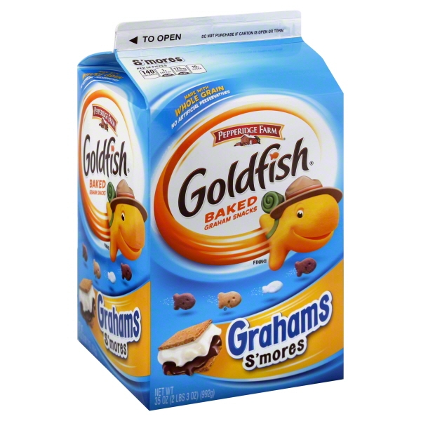Pepperidge Farm Goldfish Graham Snacks, 35 Oz.