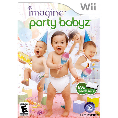Imagine Party Babyz, Ubisoft, Nintendo Wii, 008888174714