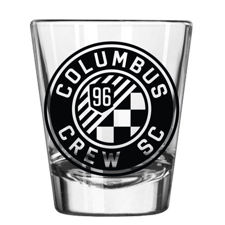 Columbus Crew SC 2oz. Collectible Game Day Shot Glass - No Size - Custom Printed Shot Glasses No Minimum
