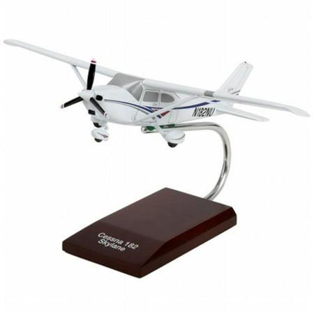 New Arrival Mastercraft Models MCC182SLPU Cessna 182 Skylane Mahogany Wood - Hobby Arrivals