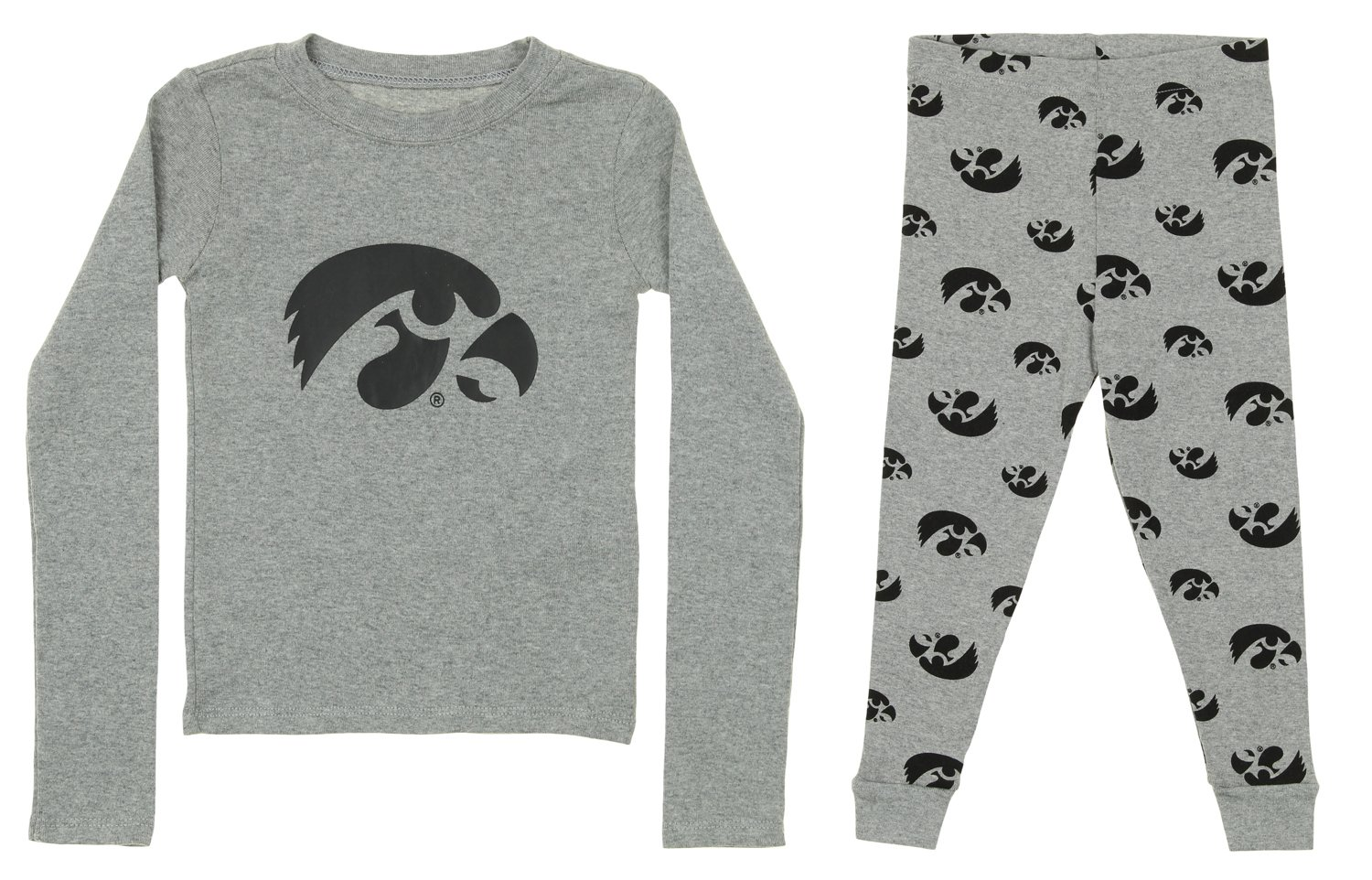 Outerstuff Iowa Hawkeyes Kids All Over Printed Pajama Shorts