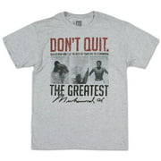 Muhammad Ali - Suffer Now Apparel T-Shirt - Grey