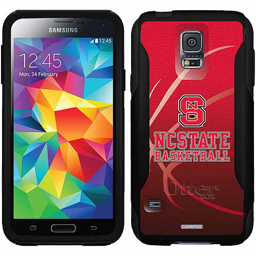 NC State Basketball Design on OtterBox Commuter Series Case for Samsung Galaxy S5