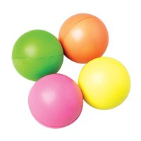 US Toy Company 7229 Neon Squeeze Balls - Pack of 12