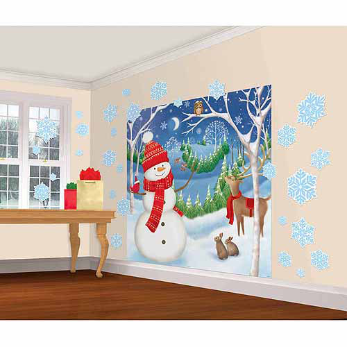 Winter Friends Scene Decoration