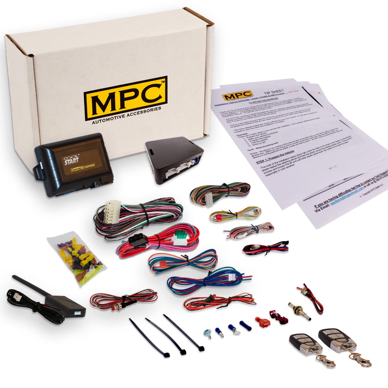 MPC Remote Start & Keyless Entry 2007-12:Chevy Malibu, HH...