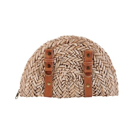 Women's San Diego Hat Company Seagrass Clutch BSB1563 Natural OSFA Seagrass Gambler Hat