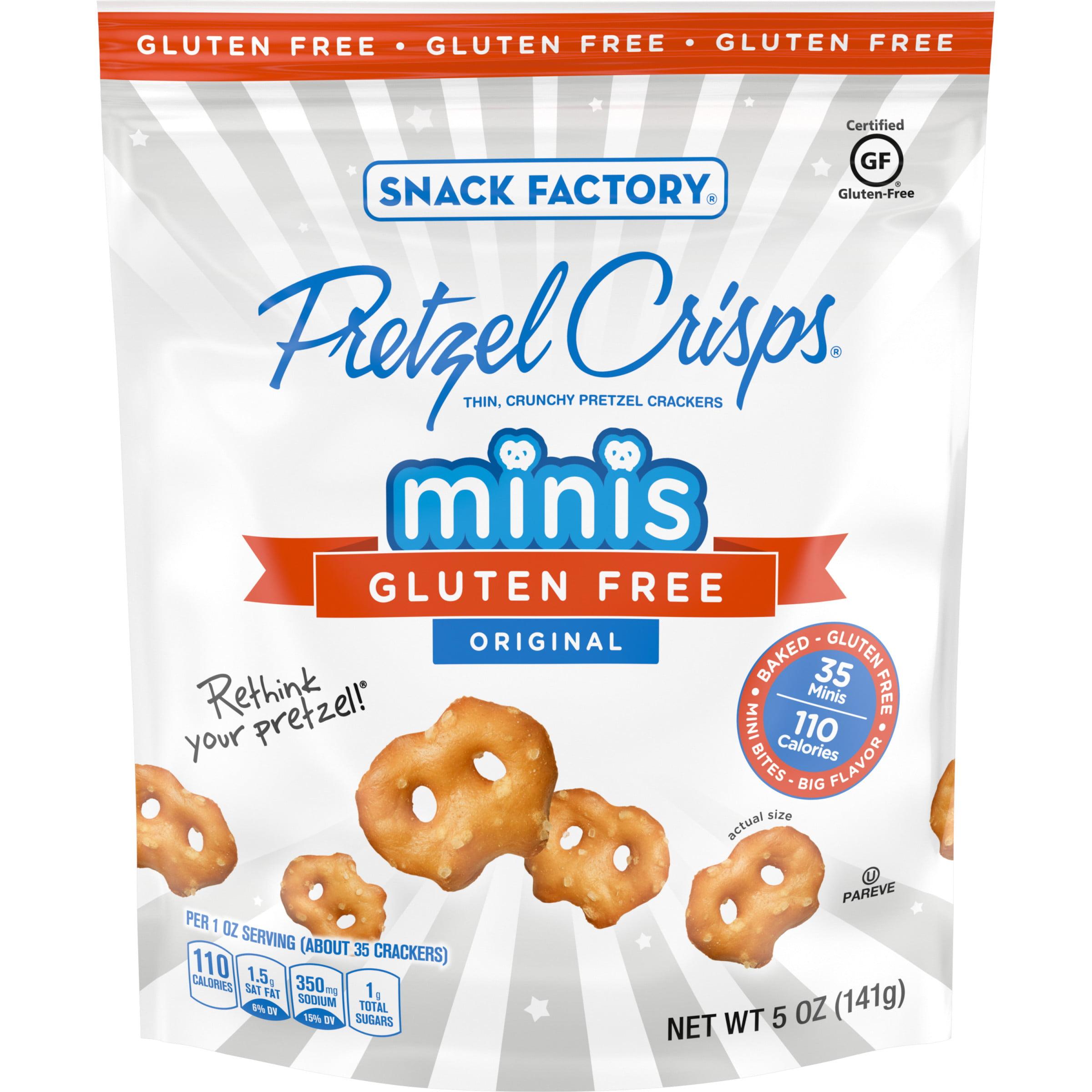 Snack Factory Pretzel Crisps Gluten Free Minis Original ...