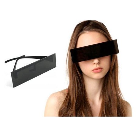 Censor Bar Sunglasses Lady Gaga Costume Glasses Singer Music Video Halloween](Singer Costume Ideas)