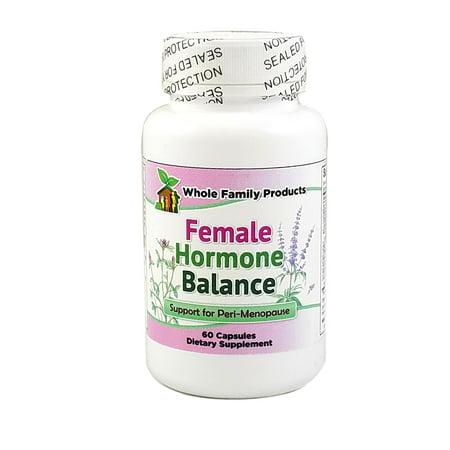 - Female Hormone Balance for Perimenopause - Menopause Symptom Support for Hot Flashes, Night Sweats, and Mood Swings with Black Cohosh and Soy Isoflavones