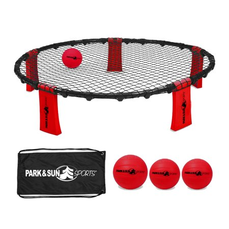 Park & Sun Sports Rally Fire Portable Volleyball Game Set with Accessories, Red](Rally Accessories)