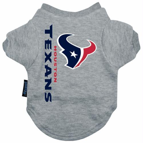 Houston Texans Dog Tee Shirt - Small