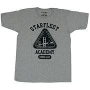 Star Trek Mens T-Shirt - Starfleet Academy MMCLXI With Triangle Logo Image