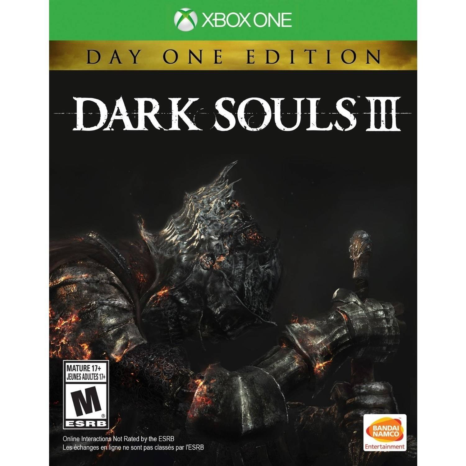 Dark Souls III: Day 1 Edition (Xbox One)