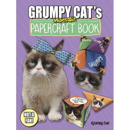 Grumpy Cat's Miserable Papercraft Book for $<!---->