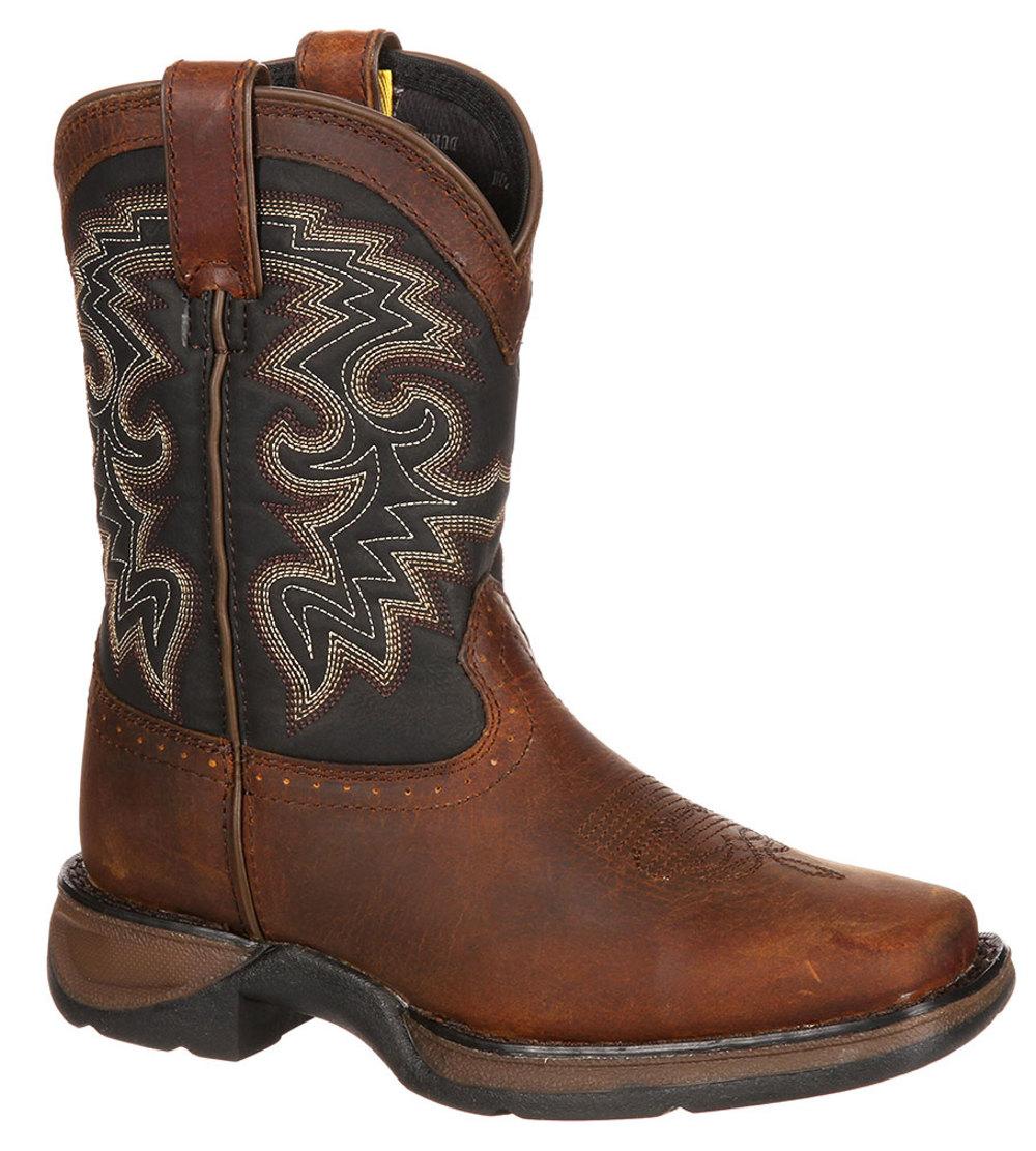 "Durango Kid's 8"" WESTERN Cowboy Brown Fashion Boot 7 M by Durango"