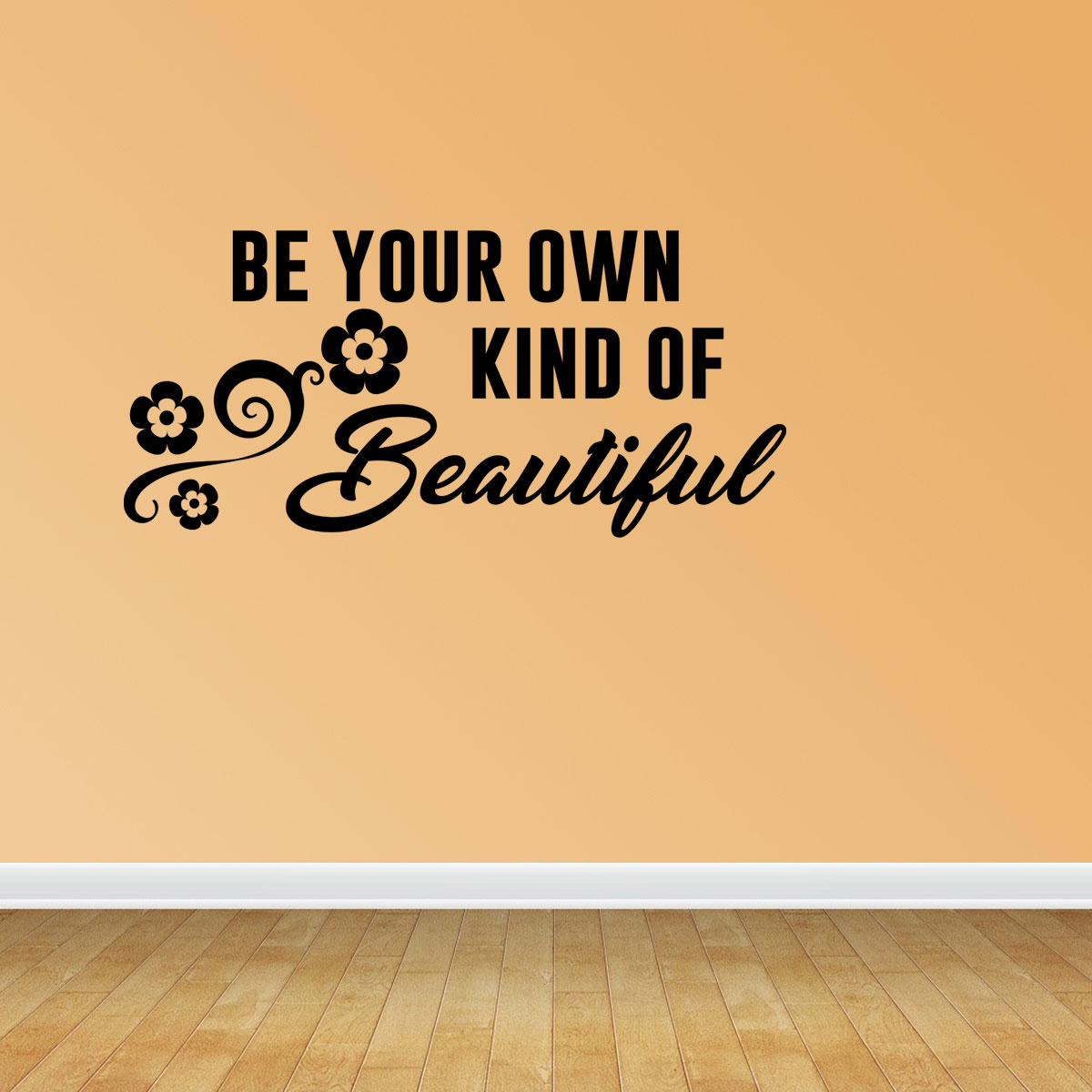 Be Your Own Kind Of Beautiful Wall Decal Quotes Marilyn Monroe Decal ...