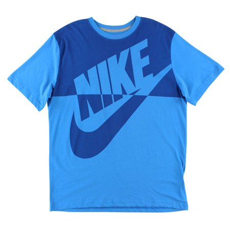 Nike mens futura reverse t shirt light blue Light blue t shirt mens
