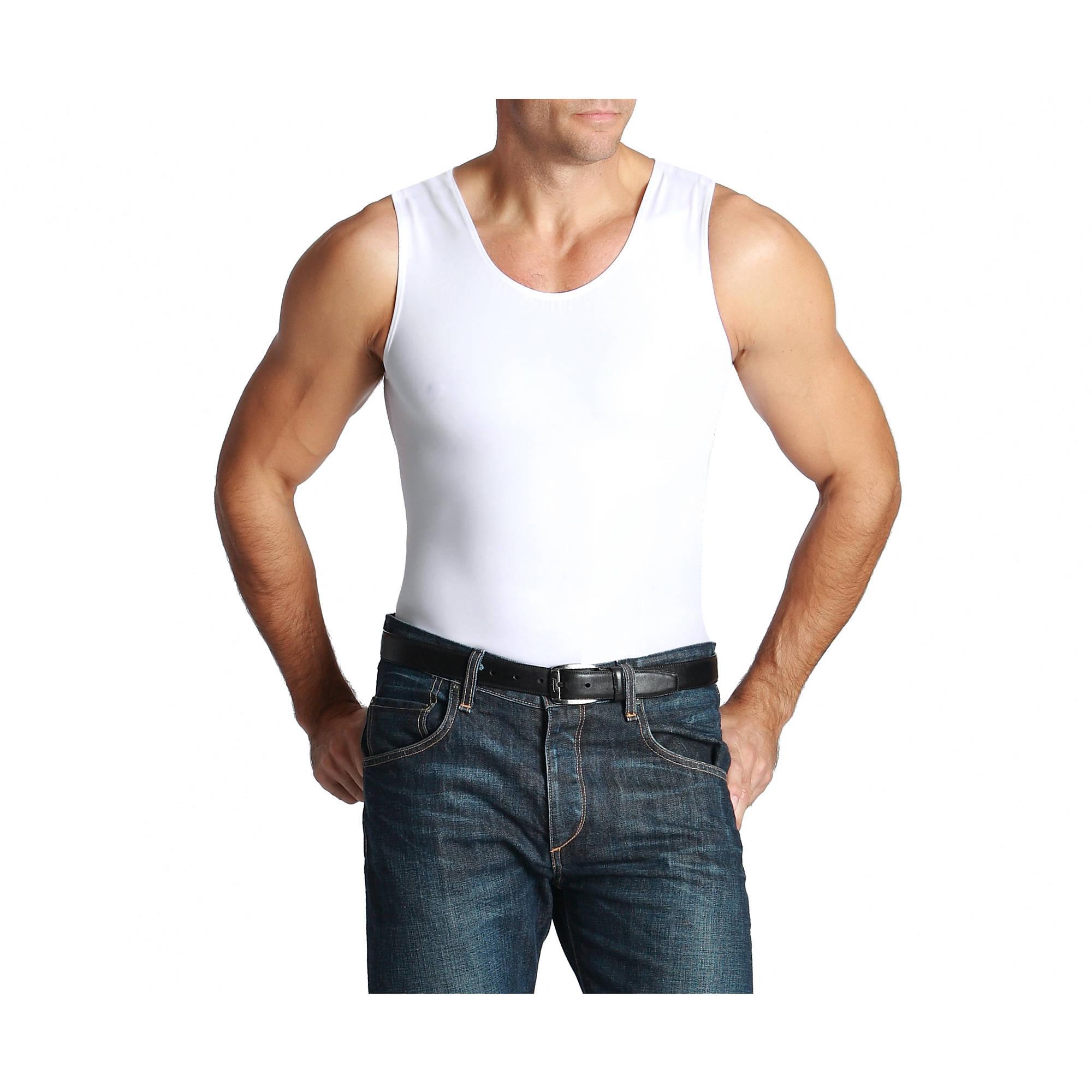 As Seen On TV Insta-Slim Tank, White, Large