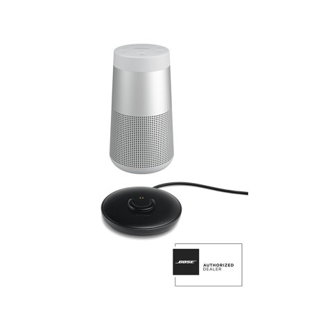 Bose SoundLink Revolve Grey Bluetooth Speaker and Charge Cradle Kit
